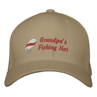 Personalizado del gorra de la pesca del abuelo gorras de béisbol bordadas