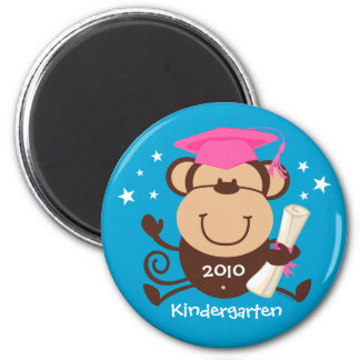 Personalizado del graduado del mono del chica iman