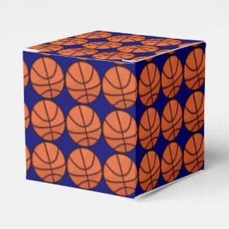 Personalizado del modelo del baloncesto caja para regalo de boda