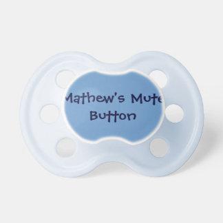 Personalizado del pacificador del bebé del humor d chupetes para bebés