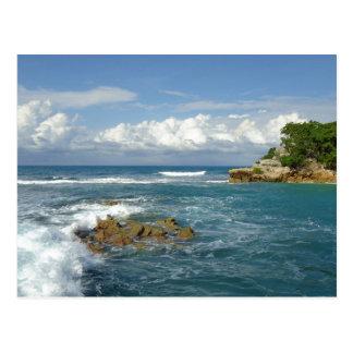 Personalizado del paisaje marino de Labadee Postales