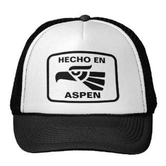 Personalizado del personalizado del en Aspen de He Gorras De Camionero