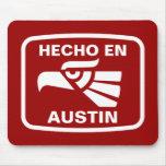 Personalizado del personalizado del en Austin de H Tapetes De Raton