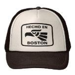 Personalizado del personalizado del en Boston de H Gorro De Camionero