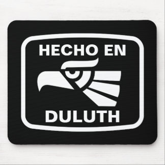 Personalizado del personalizado del en Duluth de H Alfombrilla De Ratones
