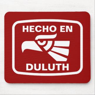 Personalizado del personalizado del en Duluth de H Tapetes De Ratón