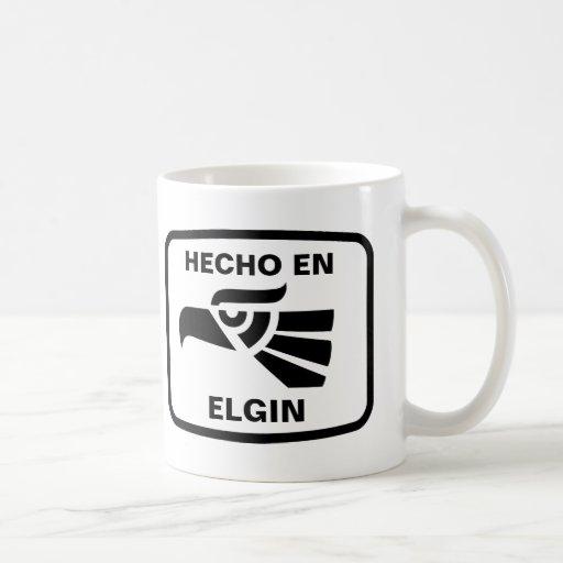 Personalizado del personalizado del en Elgin de He Tazas De Café