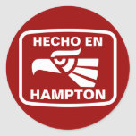 Personalizado del personalizado del en Hampton de  Etiquetas