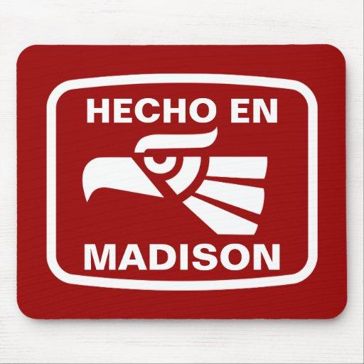 Personalizado del personalizado del en Madison de  Mouse Pads