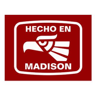 Personalizado del personalizado del en Madison de Tarjetas Postales
