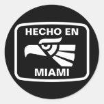 Personalizado del personalizado del en Miami de He Etiquetas