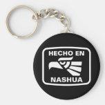 Personalizado del personalizado del en Nashua de H Llavero