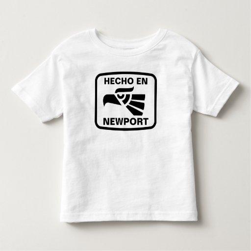 Personalizado del personalizado del en Newport de Playeras
