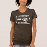 Personalizado del personalizado del en Newport de  Camiseta