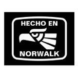 Personalizado del personalizado del en Norwalk de  Tarjeta Postal