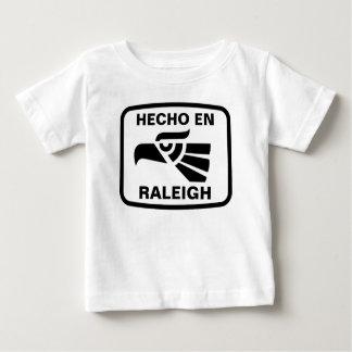 Personalizado del personalizado del en Raleigh de Playera Para Bebé