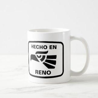Personalizado del personalizado del en Reno de Hec Taza Básica Blanca