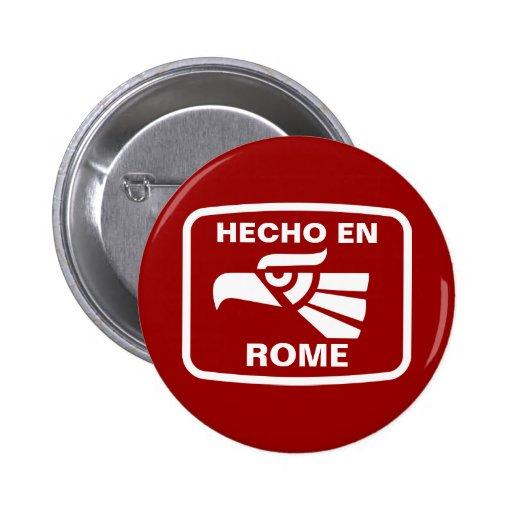 Personalizado del personalizado del en Roma de Hec Pin Redondo 5 Cm