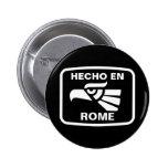 Personalizado del personalizado del en Roma de Hec Pins