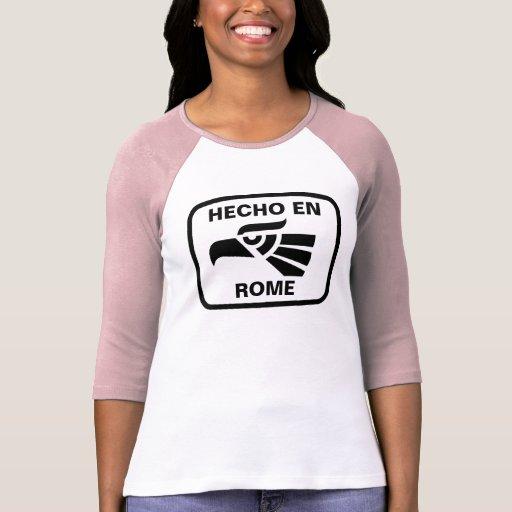 Personalizado del personalizado del en Roma de Hec Camisetas