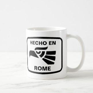 Personalizado del personalizado del en Roma de Hec Tazas De Café