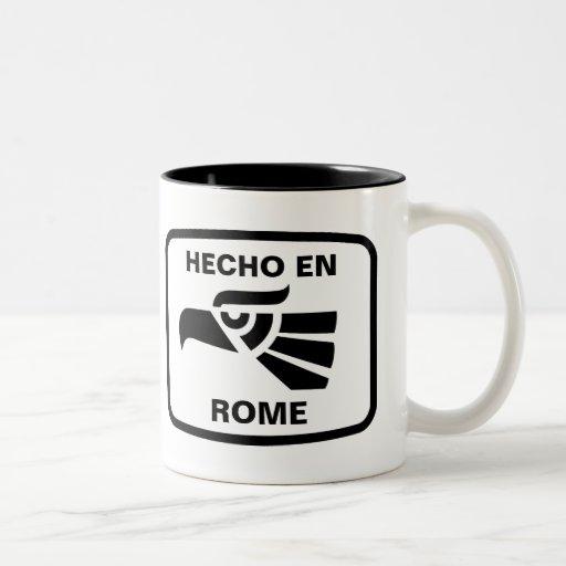 Personalizado del personalizado del en Roma de Hec Taza Dos Tonos