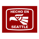Personalizado del personalizado del en Seattle de  Tarjeta Postal
