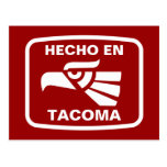 Personalizado del personalizado del en Tacoma de H Tarjetas Postales