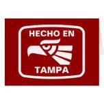 Personalizado del personalizado del en Tampa de He Tarjeta