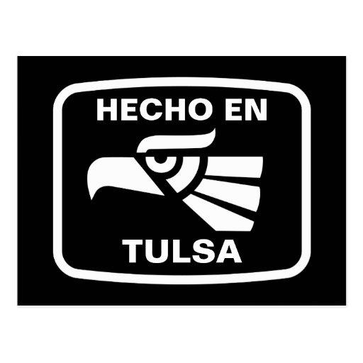 Personalizado del personalizado del en Tulsa de He Postales