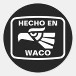 Personalizado del personalizado del en Waco de Hec Pegatinas