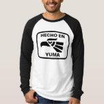 Personalizado del personalizado del en Yuma de Playera