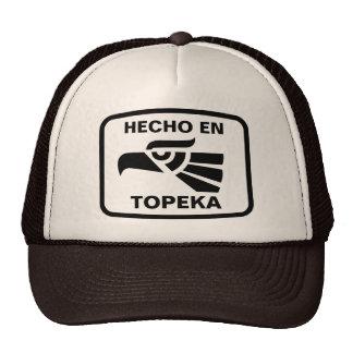 Personalizado del personalizado del Topeka del en  Gorros Bordados