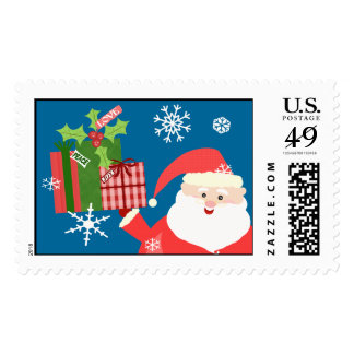 Personalizado del sello de Santa del navidad