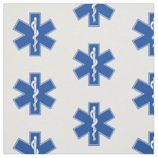 Personalizado del símbolo del paramédico de EMT Telas
