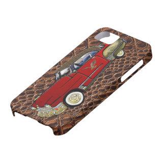 Personalizado del vintage Cadillac 1949 Coupe de Funda Para iPhone SE/5/5s