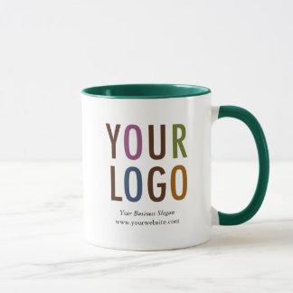 Personalizado dentro del logotipo promocional del taza