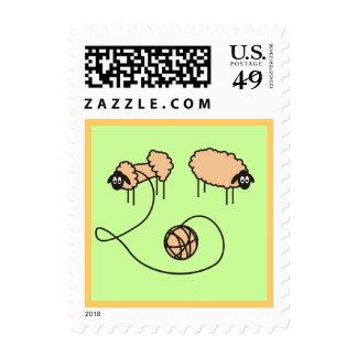 Personalizado divertido de las ovejas envio