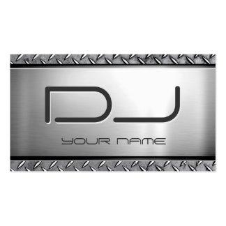 Personalizado DJ - Mirada de metales pesados única Tarjetas De Visita