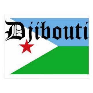Personalizado Djibouti de Africankoko Tarjeta Postal