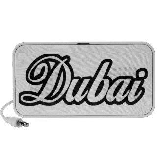 Personalizado Dubai de la capilla del representant Laptop Altavoz
