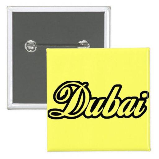 Personalizado Dubai de la capilla del representant Pins