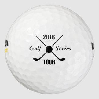 Personalizado elegante del logotipo de la liga del pack de pelotas de golf