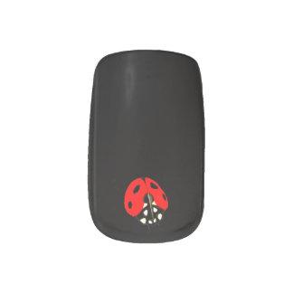 Personalizado - elija su mariquita preferida del pegatina para uñas