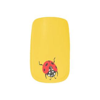 Personalizado - elija su mariquita preferida del pegatinas para uñas