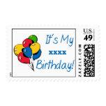 ¡Personalizado es mi cumpleaños XXX! (Azul de los Envio