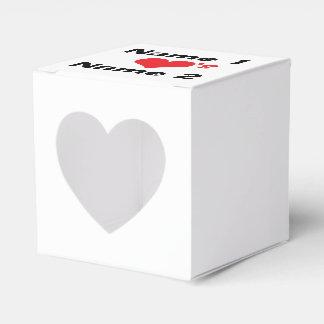 Personalizado estamos en amor cajas para detalles de boda