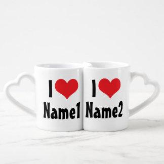 Personalizado estamos en amor tazas amorosas