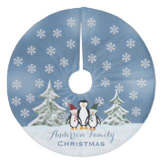 Personalizado: Falda del árbol de navidad de la Falda Para Arbol De Navidad De Forro Polar