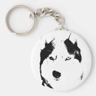 Personalizado fornido del llavero del perro del